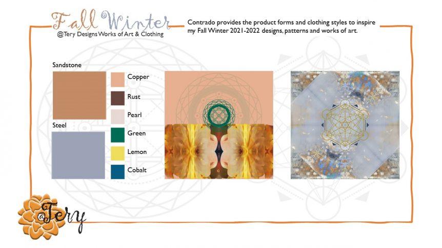 Tery Designs for Contrado Fall Winter 2022-2021Tery Designs by Tery Spataro