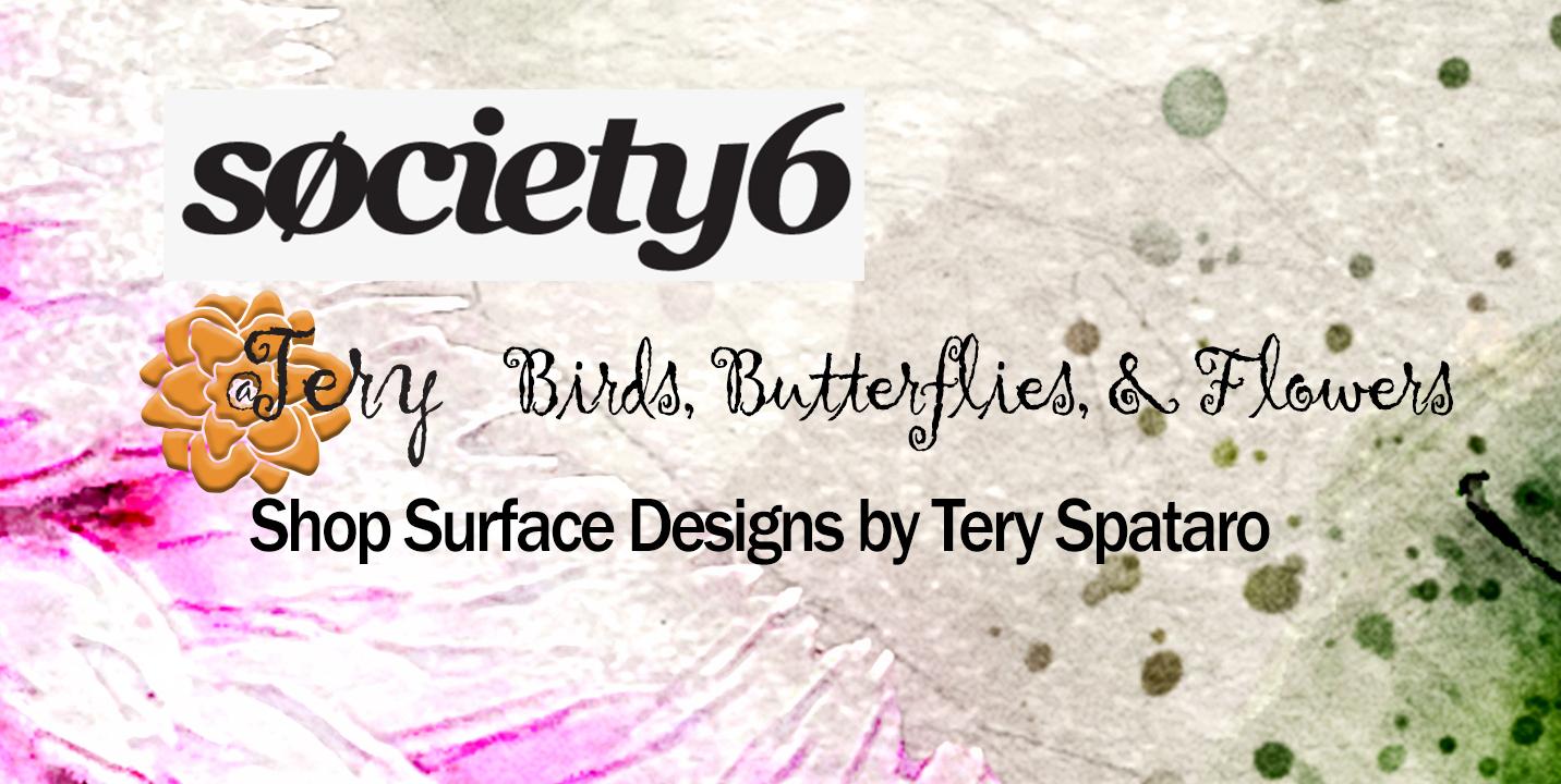 Society6 Tery Spataro Shop